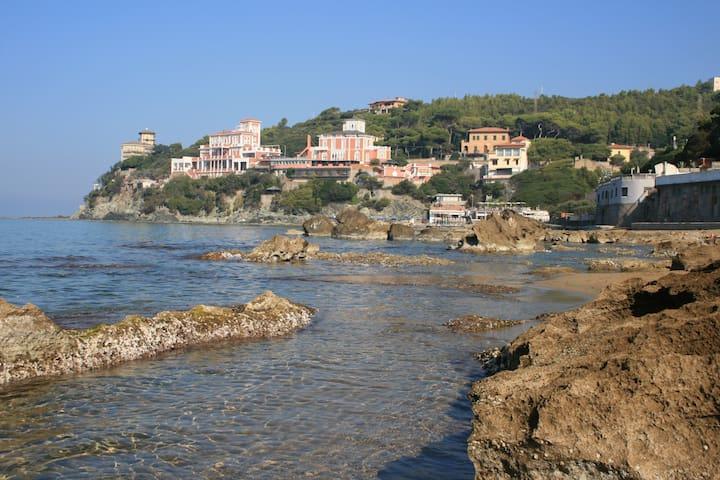 Wonderful holiday apartment in Castiglioncello - Rosignano Solvay-Castiglioncello - Apartament