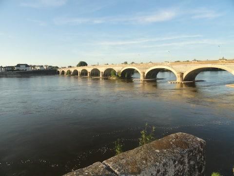 Maison avec vue sur la Loire