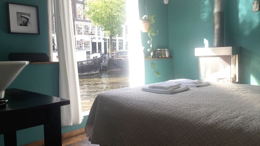 A room with best canal view ever