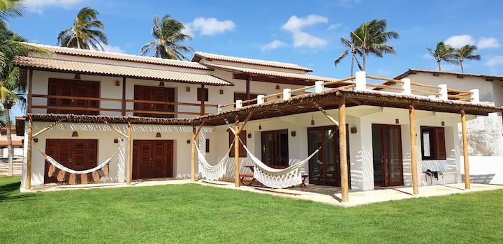 Brand new 5 bedroom beachfront house, Guajiru