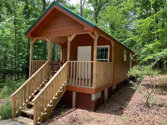 Tiny Home Cabin #2- 1.2 miles off exit 242