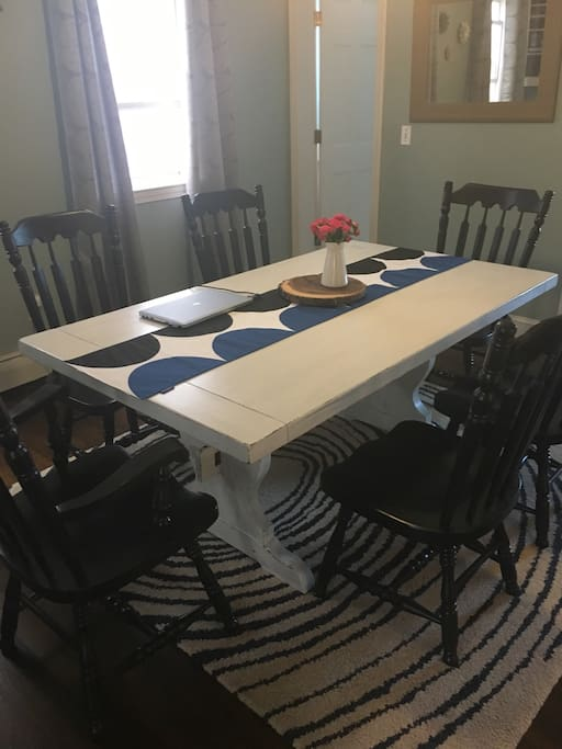 Large Farmhouse table perfect for working or eating