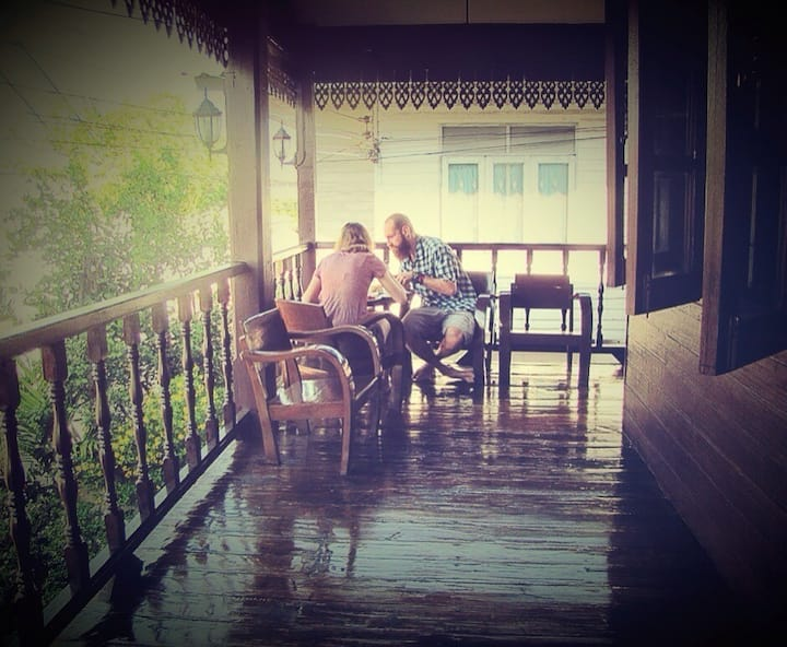 HuanKawin Est.58 Lanna Home:QueenBed ShareBathroom