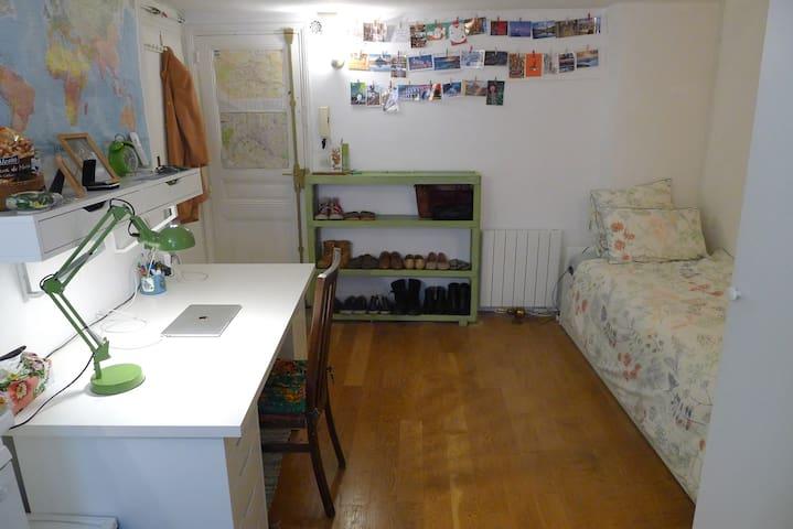 Studio cosy au centre Paris / Canal Saint-Martin