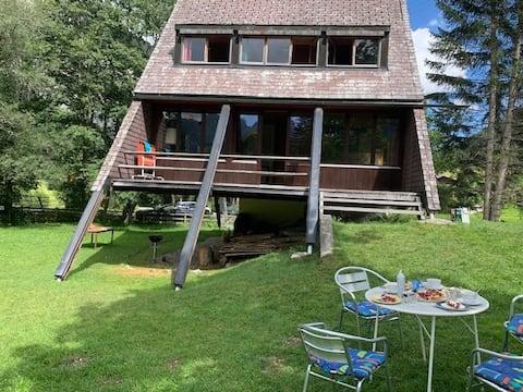 Ferienchalet im Ski- und Wandergebiet Grimmialp