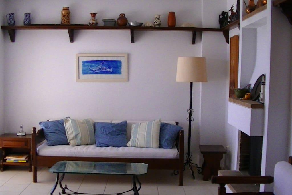 Lounge, sofa-bed