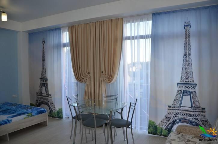 Уютная студия рядом с морем в Адлере - Kirov - Apartment