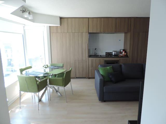 Luxurious Modern Yorkville Suite
