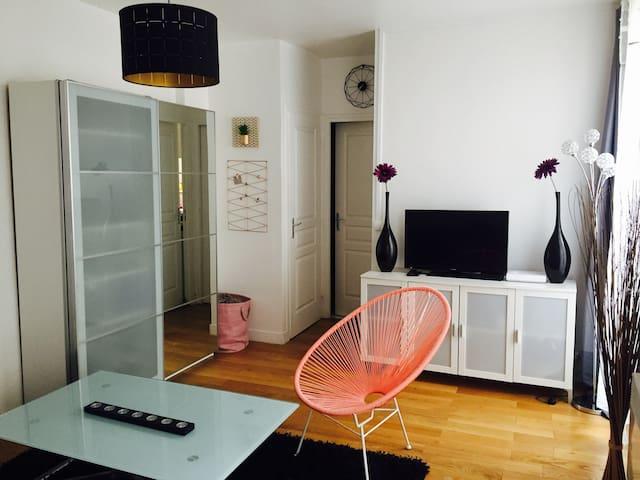 Appartement cosy Paris 10ème,proche métro - Paris - Apartment