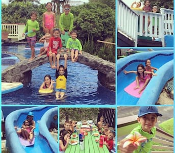 Honomu Place: Pool,  Slide, Hot Tub, Netflix & Gym