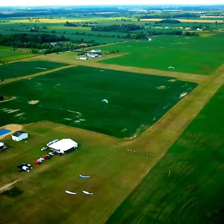 Stay at a Private Airpark