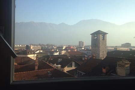 Cosy room on Locarno's oldtown roofs - Locarno