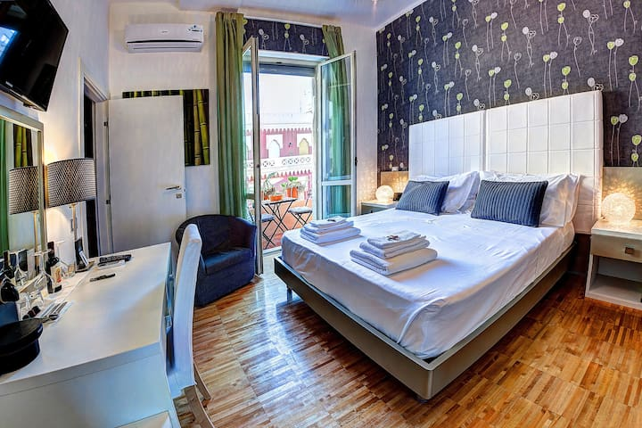 Habitación doble con baño Luxury B&B
