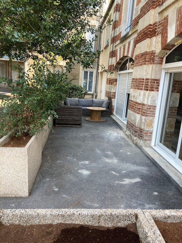 Appartement Port Boinot/Quai Metayer