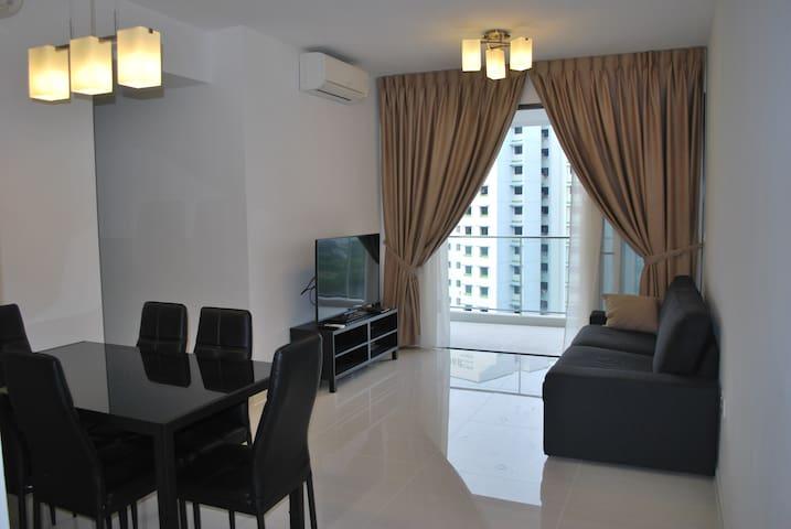 Clean, modern and new condo apartment (Near LRT)