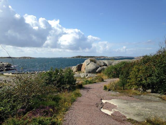 Enkel stuga 3 min från havet i västra Göteborg - Gothenburg - Cottage