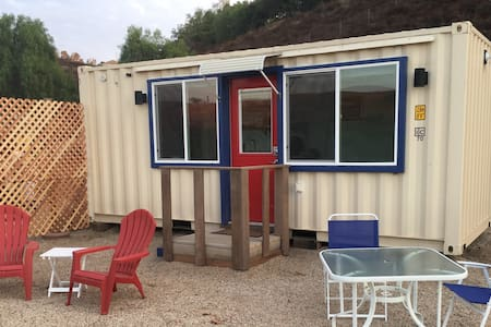 Container Tiny House Studio in the Vineyard