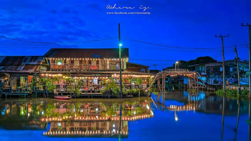 Huatakhe Water Front 3 DBR - latkrabang - House