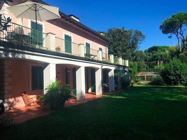 beautiful villa in versilia