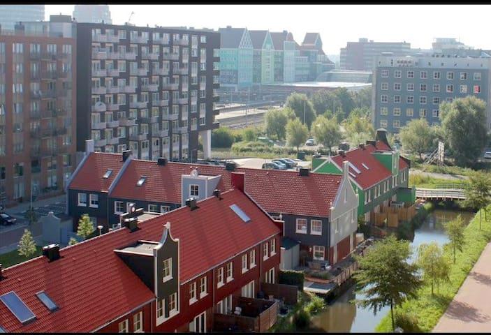 **luxury loft apartment with authentic view** - Zaandam - Apartamento