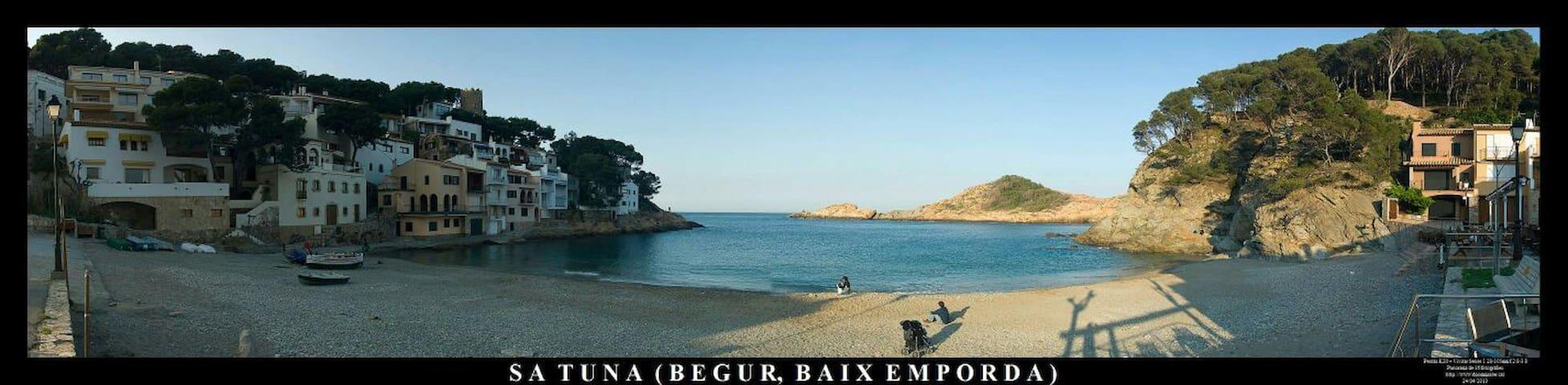 Apartamento Duplex en Sa Tuna Begur - Girona - Lägenhet