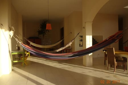 Carnaval de Barranquilla - House on the sea hamaca - Puerto Colombia - Timeshare (propriedade compartilhada)