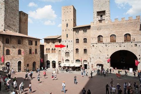 San Gimignano casa centro storico