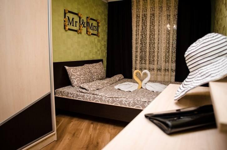 Ровно,хороший ремонт,2 комнати,wifi - Rivne - Appartement