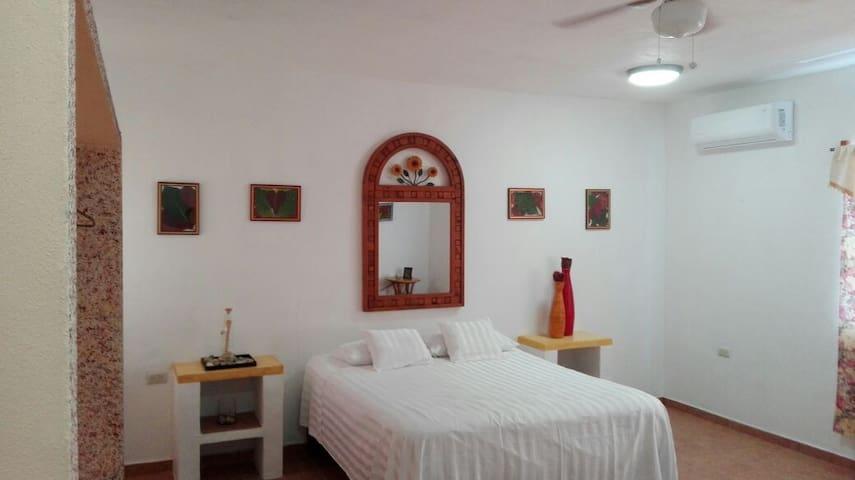 Rooms in House/Aparment in Mita close to the Ocean - Punta de Mita - Apartamento