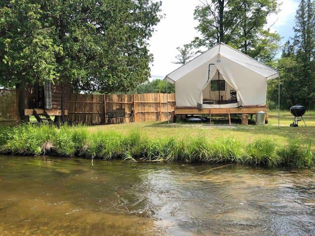 Platte River Wall Tent Paradise