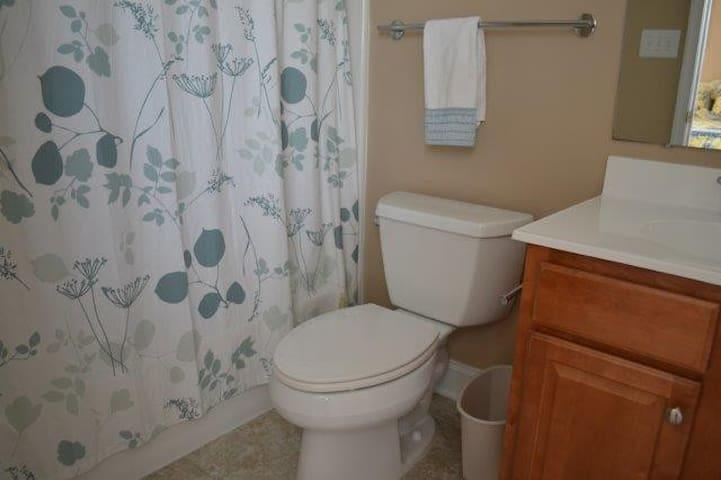 2nd floor- bathroom with tub