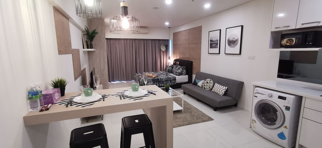 [B12]Cozy&Stylish Studio,12min to KLCC 7min to LRT