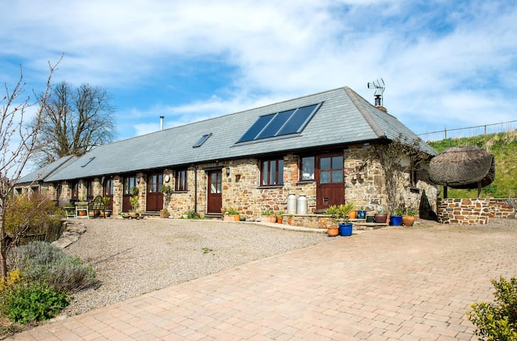 Unique Rural Stone Barn Conversion - Petrockstow - Annat