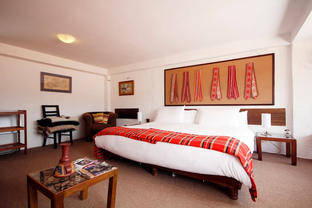 A large suite for the price of a room