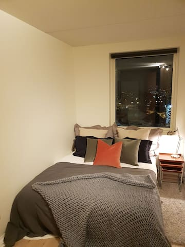 Room in new, modern, central apartment