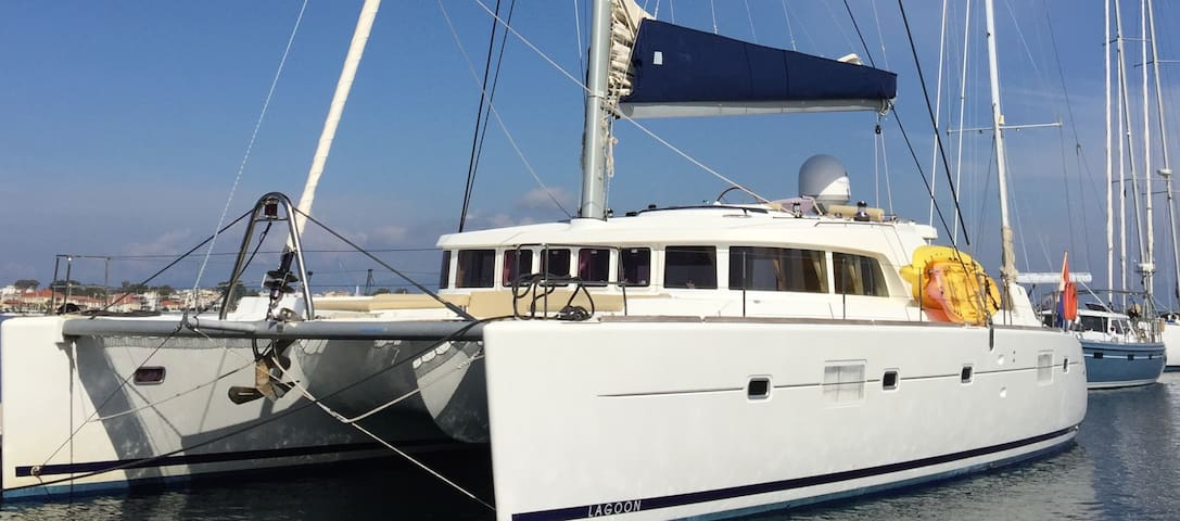 Superbe Catamaran Lagoon500 (8pers) - Kontokali - Boot