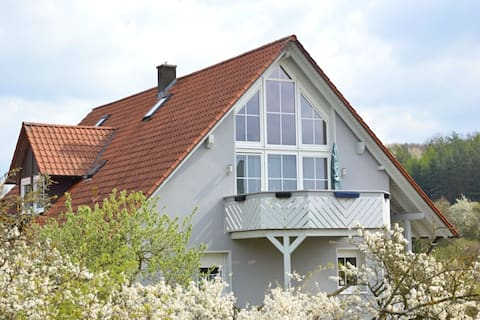 """A comfortable holiday home in the """"Dreiländereck"""" area of Bavaria/Hessen/Thuringia"""