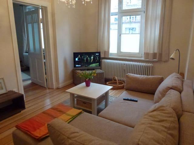 3 Room Flat near Alsterlake & City - Hampuri - Huoneisto