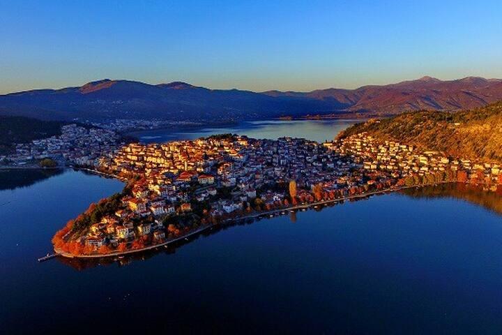 Kastoria διαμέρισμα με θέα στη λίμνη