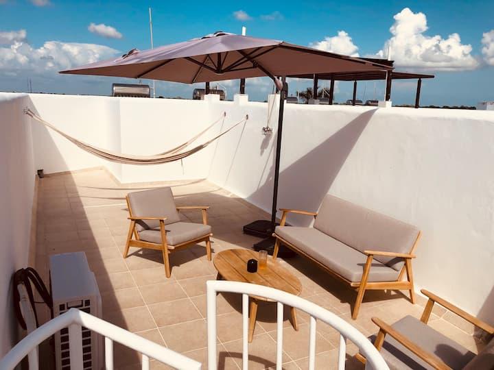 Cozumel Bellavista Loft - Private Rooftop Terrace