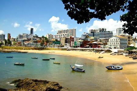 Rio Vermelho de frente pro mar!!!!! - Rio Vermelho - Apartment