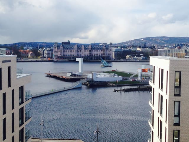 Beaut apartment, Ocean view close to Opera/Centrum - Oslo - Lakás