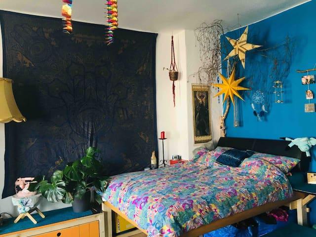 helles, gemütliches Zimmer in Berlin Gesundbrunnen