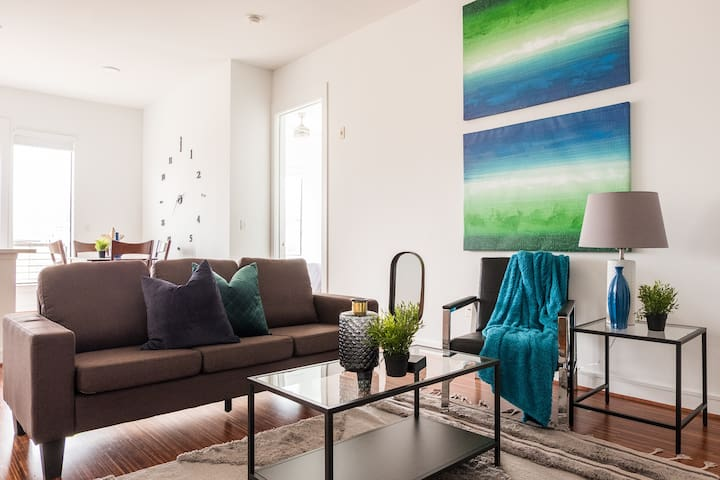 Bright + Spacious | Parking @ West Village 2BR