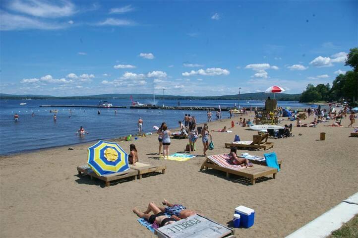 Le St-Gab Beach