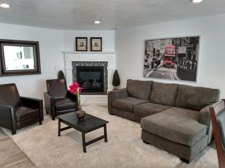 Daylight Basement Home separate private entrance