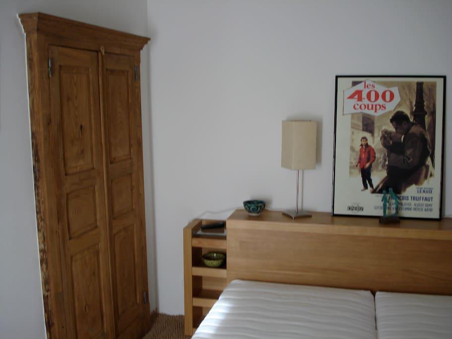 Chambre parentale avec lit 2x90