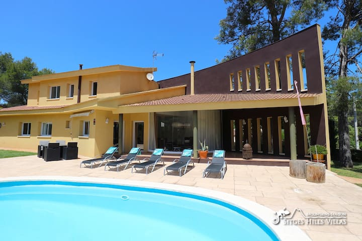 Great Villa Mitja Lluna - private pool and space