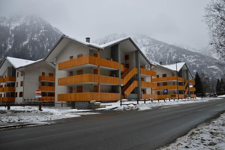 Spazioso appartamento per famiglie - Gressoney-Saint-Jean - Lakás