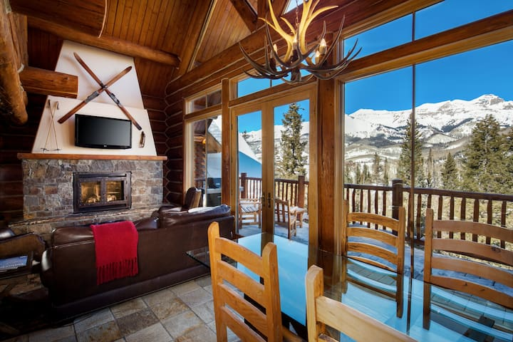 Private, luxury Log Cabin, ski-in/ski-out access. - Telluride - Ξυλόσπιτο